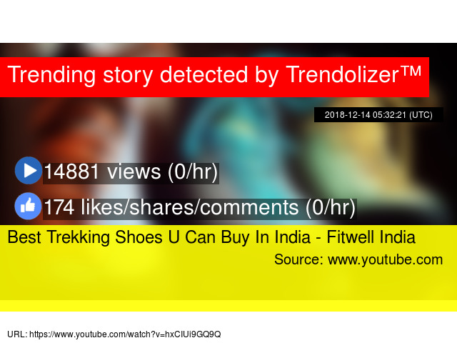 Best Trekking Shoes U Can Buy In India - Fitwell India