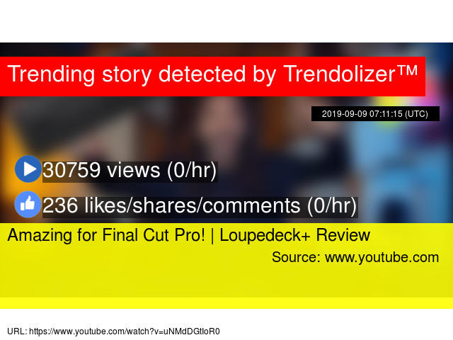 Amazing for Final Cut Pro! | Loupedeck+ Review